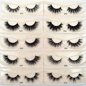 Image 2 - Free DHL 50pairs Visofree Eyelashes 3D Mink Lashes Handmade Mink Dramatic Lashes 51styles cruelty free reusable lashes wholesale