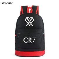 FVIP CR7 Backpack School Bags For Teenagers Boys Bagpack Men Ronaldo Fashion Bookbags For Children Cool