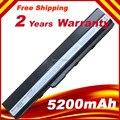 Секционная цена 6 ячеек батареи для ASUS K52 Аккумулятор для ноутбука NEU A31-K42 A32-K42 A31-K52 A32-K52 A41-K52 Бесплатная доставка