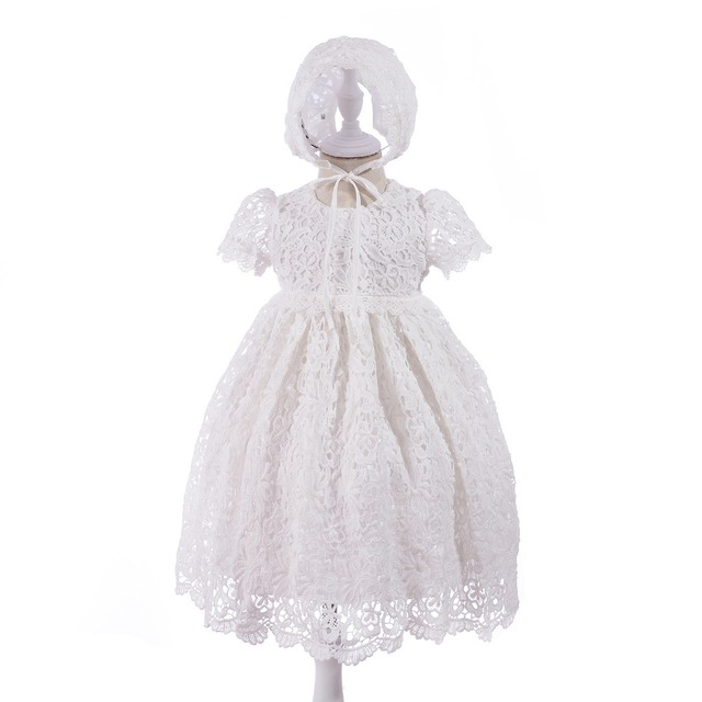 b7d140888a7 2018 New Lace Baby Girl Dress 3M-24M 1 Years Baby Girls Birthday Dresses  Vestido birthday party princess dress
