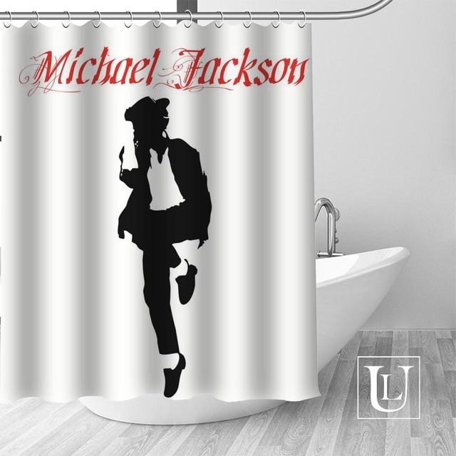 2 Shower Curtain Michael jackson shower curtain jackson galaxy 5c64f7a44ec73