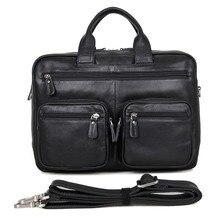 JMD Mode Anwalt Leder Handtasche Laptop-tasche Für Amt herren Aktentasche 7231A