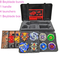 14PCS Toupie Beyblade Burst Set Masters Launcher Spinning Top Beyblades Arena Metal Fusion Beyblade Toys For