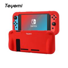 Nintend Switch Case,Soft Silicone Protective Cover Case Shell Docking Handle Grips For Nintend Switch eastvita portable game bags game storage case protective handle carry case cover zipper protective shell for nintend switch