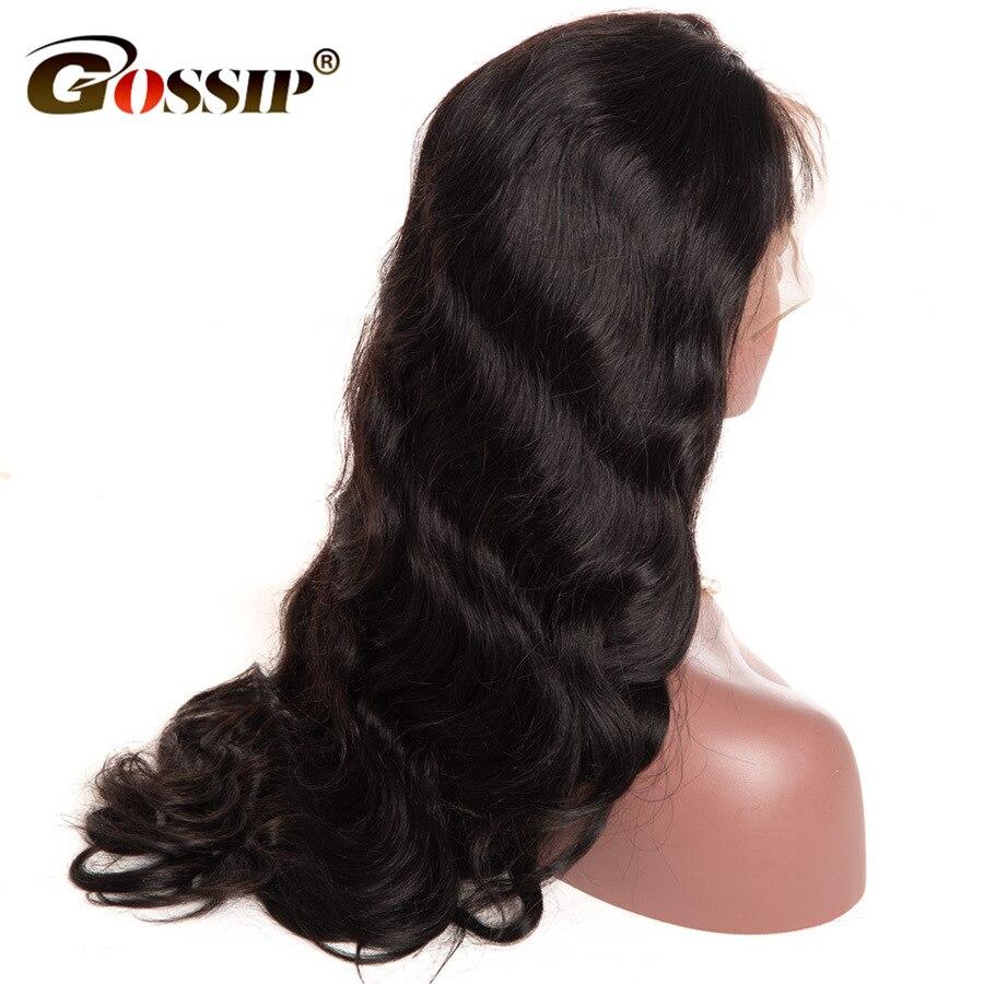 Brazilian Body Wave 250 density Lace Front Human Hair Wigs Black Women Gossip Hair Full Human Hair Wigs Remy Lace Front Wigs