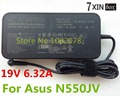 19V 6.32A 120W AC Adapter Charger For Asus N550JV Series N550JV-DB72T PA-1121-28 ADP-120RH B N53sm N55Sf N750Jv N56Vm N71J
