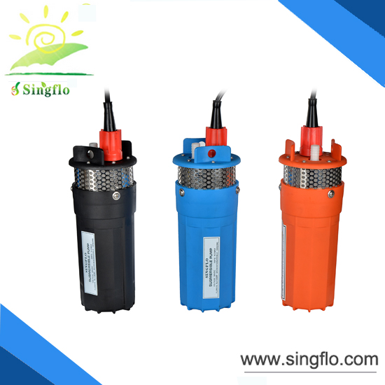 high pressure submersible price solar water pump for agriculture Wholesale 24 volt dc 10pcs carton
