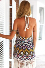 Fashion Beach Sexy Tropical Quality Summer Dress Print Brand Female Summer Style Vestido De Festa Women Dress Femininas