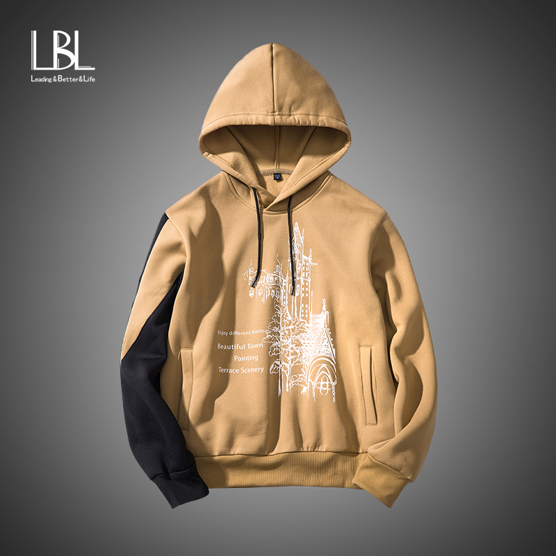 LBL Hoodies Men 2018 Autumn New Fashion Hoodies and Sweatshirts Brand Clothing LBL003 it will Be produced if it get more Likes