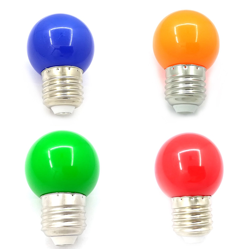 Colorful Globe Light Bulb E27 Led Bar 3w White Red Blue Green Yellow Orange Pink Lamp Smd 2835 Home Decor Lighting In Bulbs S From