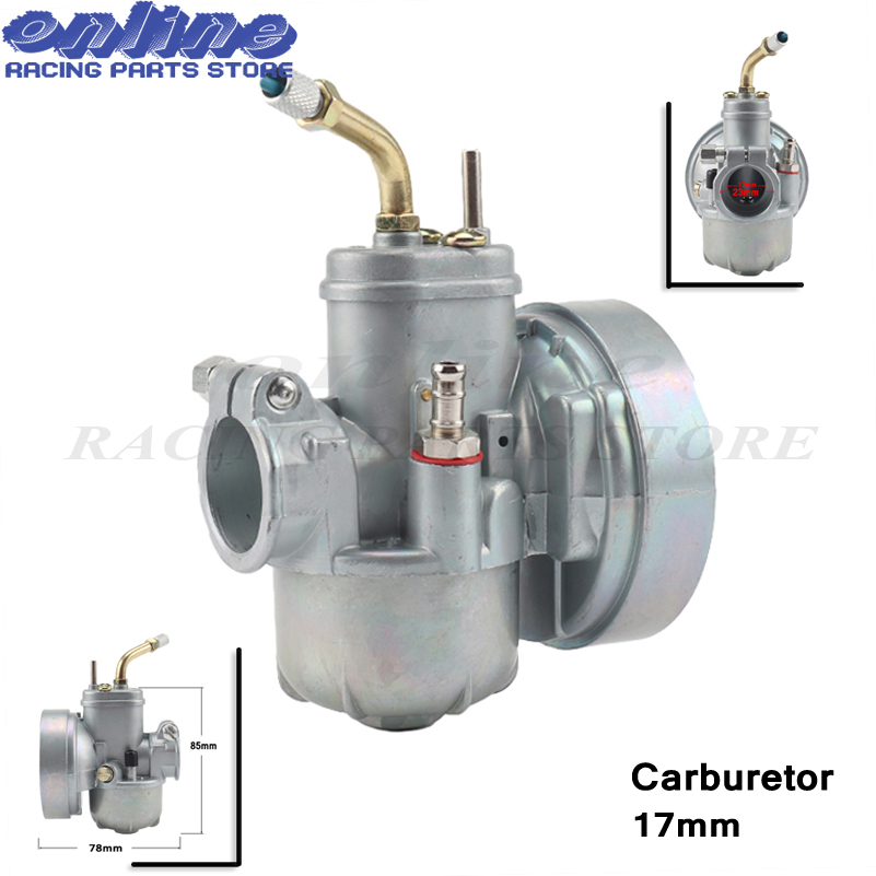 New 17mm Carburetor replacement moped bike fit puch 17mm carb bing style For Puch Bing Dax