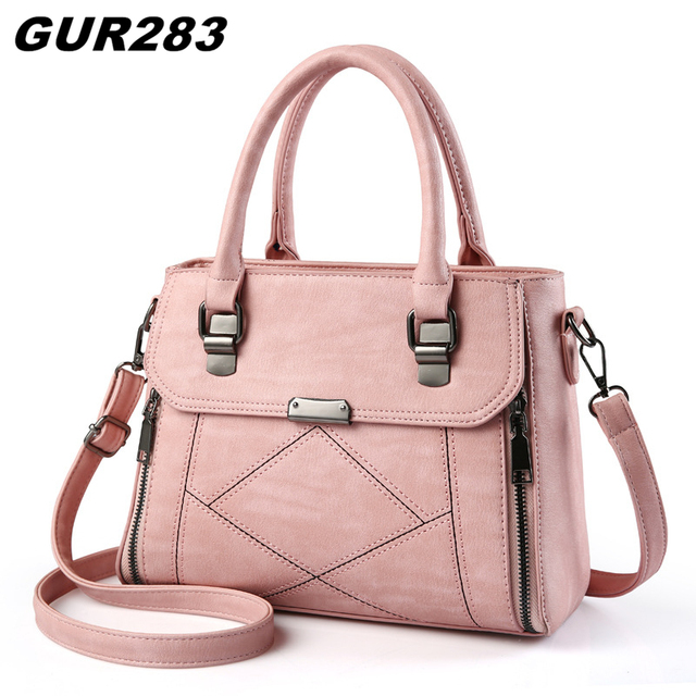 7fbb2142d3e Luxury Designer Handbags High Quality Patchwork Leather Bags Women Casual Vintage  Bags Handbags Women Famous Brands Shoulder Bag