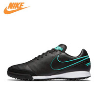 NIKE TIEMPO GENIO II LEATHER TF Men S Comfortable Light Football Shoes Soccer Sneakers 819216 004