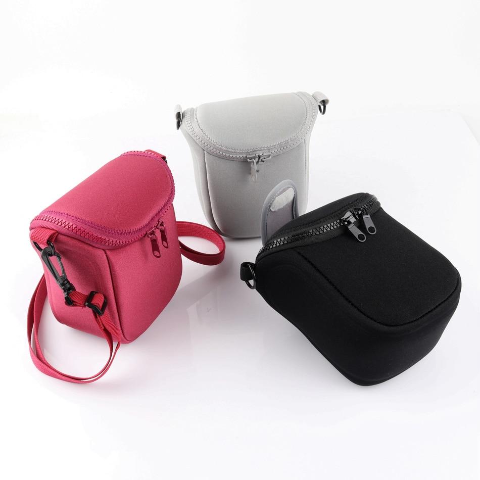 Digital Camera Case Bag For Samsung NX3000 NX2000 NX1000 NX500 NX200 GC200 GC110 NX300 NX20 NX30 NX mini 9-27mm Lens With Strap