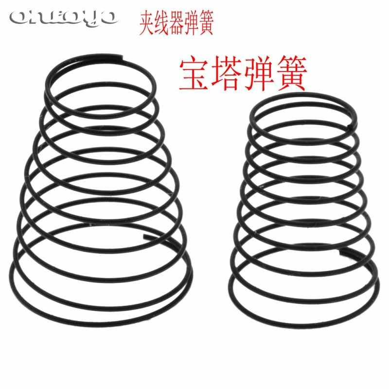 Computer embroidery machine accessories thread clamp tension spring pagoda big small