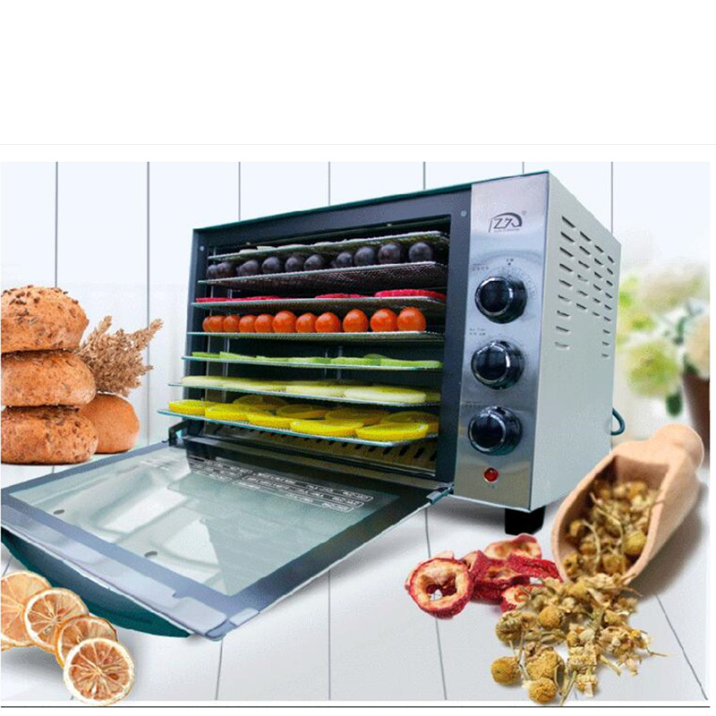 220V Multifunctional Electric Food Dryer Fermenting Machine 7 Layers Fruit Herb Meat Vegetable Dehydrator Fermenting Machine shanghai kuaiqin kq 5 multifunctional shoes dryer w deodorization sterilization drying warmth