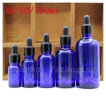 Blue Glass oil Dropper Bottle,Women's Personal Care Packaging Tools, SAP oil Special Bottle,Cosmetics Packaging Bottles
