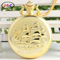 Flip retro male student couples in the elderly ladies watch Tourbillon table quartz pocket  watch  Rome DS124