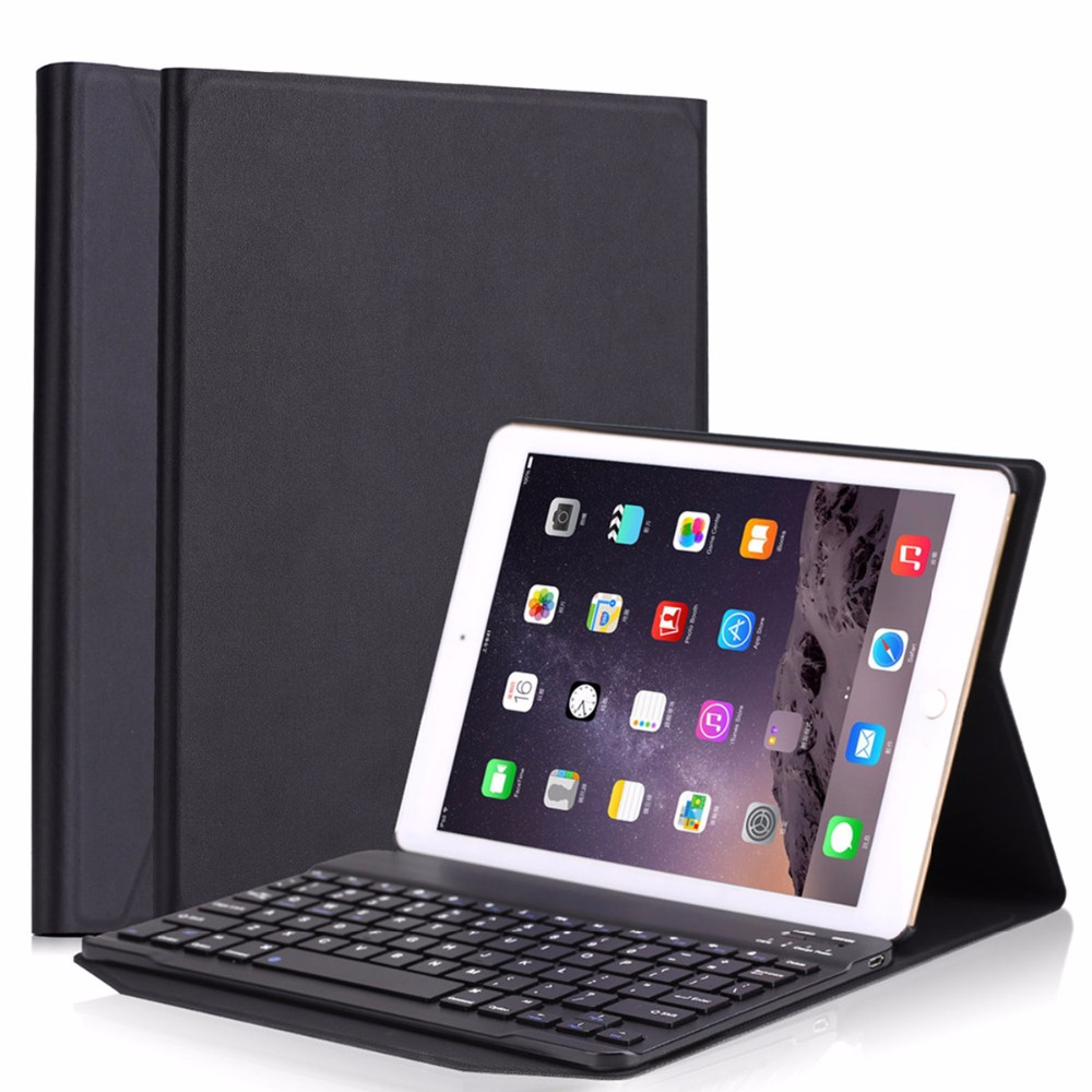 Keyboard Case For iPad pro 10.5, Ultra-thin Detachable Bluetooth Keyboard Case Cover for iPad Air 2 Stand Stand Funda Case for ipad pro 12 9 keyboard case magnetic detachable wireless bluetooth keyboard cover folio pu leather case for ipad 12 9 cover