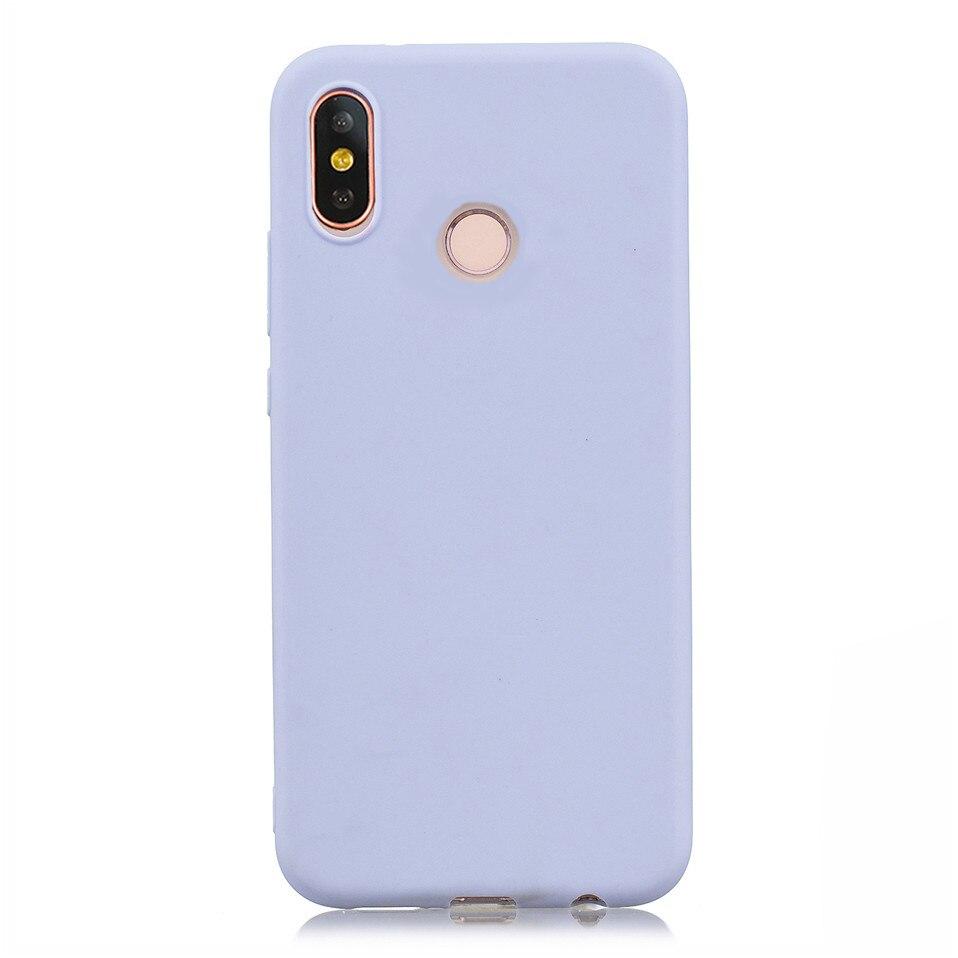 Candy Macaron Color Case For Xiaomi Redmi S2 6A 6 Pro 07