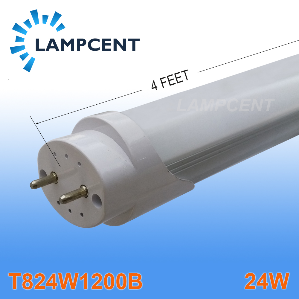 4/Pack Super bright 120leds SMD2835 24W 4FT LED TUBE T8 lamp 4ft 1200mm G13 energy saving for existing fluorescent fixture