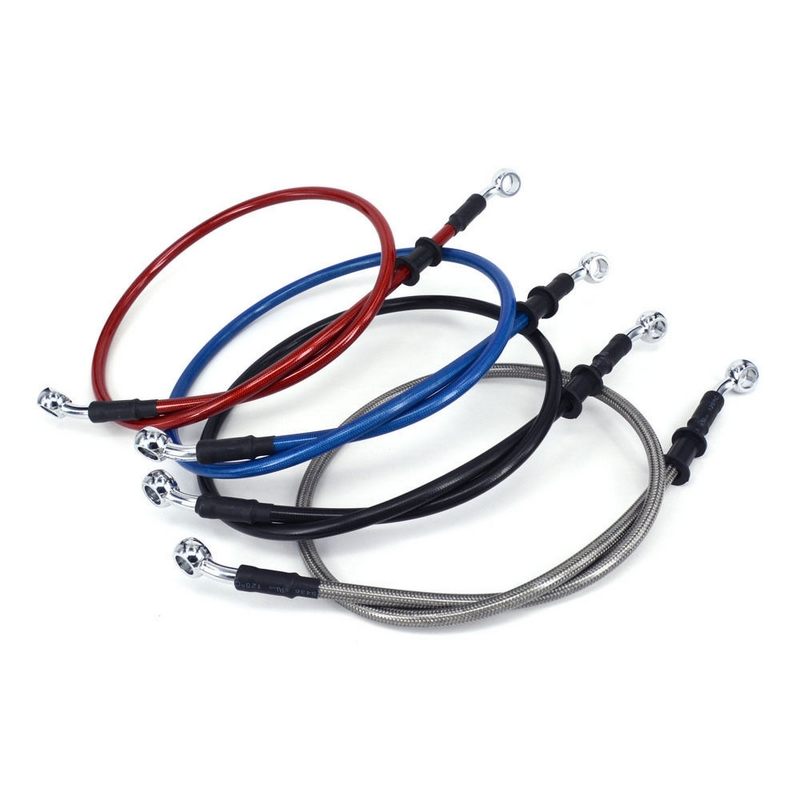 Motorcycle Braided Brake Clutch Oil Hoses Lines Pipes Cables 500mm-2000mm Motorcycle Bike
