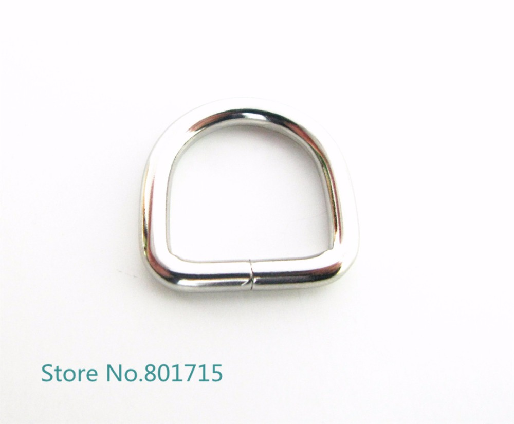 10pcs Metal wristband collar Buckles Clips 18mm belt Buckles For Accessories DIY 20 20mm Silver Tone