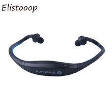 Elistooop sem fio bluetooth handfree neckband fone de ouvido esporte correndo fones estéreo para iphone xiaomi huawei