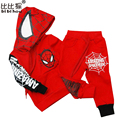 Spring Autumn Baby Boys Clothing Sets Fashion Coat + Pants Set Boys Tracksuit Sports Suit New Clothing Kids Hoodies Cartoon Suit