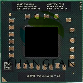 AMD Phenom cpu processor N930  HMN930DCR42GM 2.0Ghz/2M Socket S1 638 pin PGA Computer CPU-in CPUs from Computer & Office on