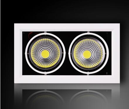 Downlights luz do ponto quadrado rotação Material : Alumínio