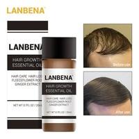 2018 LANBENA Fast Powerful Hair Growth Essence Products Essential Oil Liquid Treatment Prevent Hair Loss Hair Care Andrea 20ml