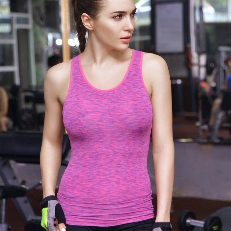 2018 New Women Yoga Shirts Tops Womens GYM Fitness Sports Gym Clothes Sports Running T-Shirts Quick dry breathable tights Shirt