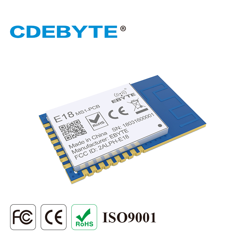 Image 2 - E18 MS1 PCB Zigbee IO CC2530 2.4Ghz 2.5mW PCB Antenna IoT uhf Mesh Network Wireless Transceiver Transmitter Receiver Module-in Fixed Wireless Terminals from Cellphones & Telecommunications