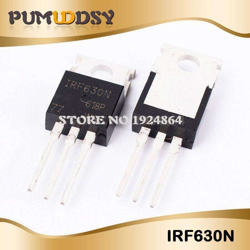 100 pieces MOSFET MOSFT 200V 9.5A 300mOhm 23.3nC