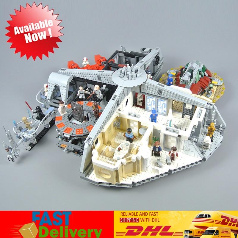 2018 Compatible Legoingly 75222 Lepin 05151 Star War Slave I 3149 PCS Betrayal Cloud City Birthday Gift DIY Building Blocks Toys цена