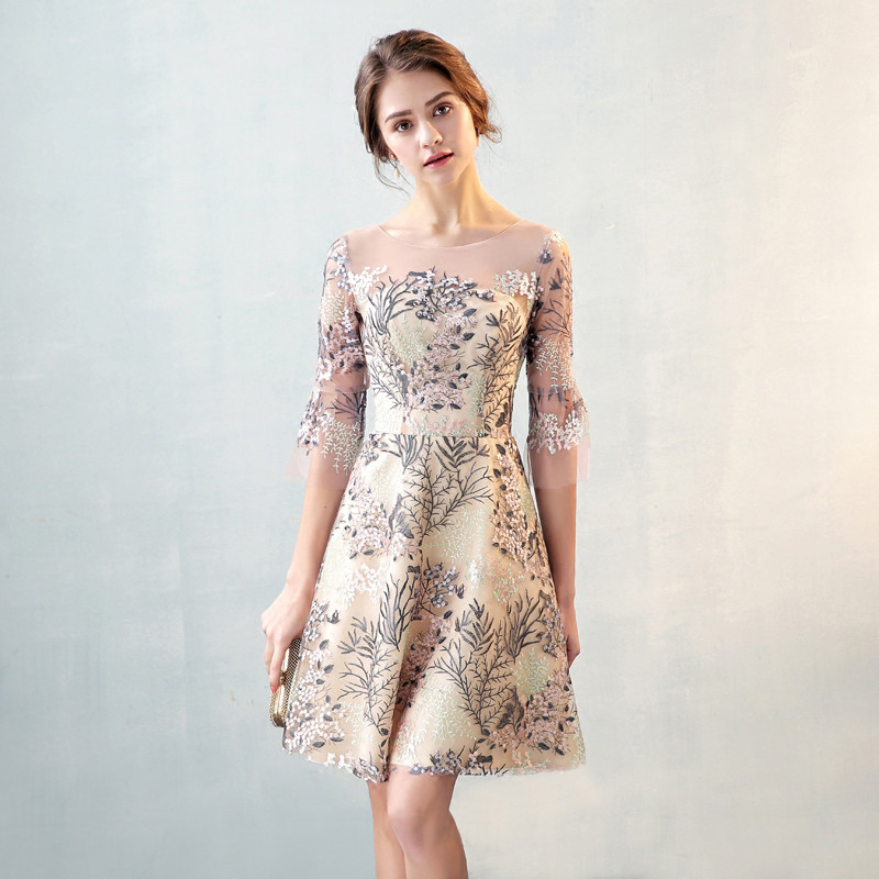 2019 Cocktail Dresses Short…