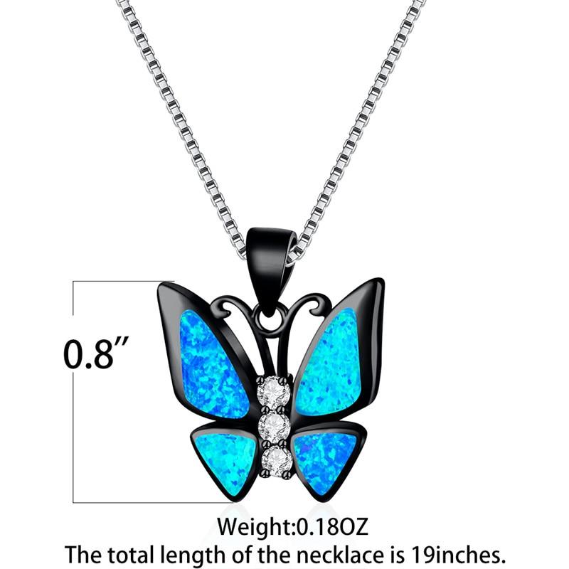 Minimalist Tiny Good Luck Blue Enamel Boho Elephant Pendant Necklace For Women For Teen Pendant 925 Sterling Silver