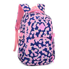Children printing backpack School backpacks Nylon Girls School Bags Waterproof Backpacks Kids Satchel Schoolbags mochila escolar fvip wow for the horde world of warcraft backpack school bags luminous backpacks tribe alliance nylon mochila galaxia