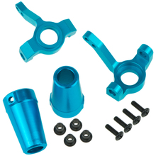 1/10 SCX10 RC Cars Parts Knuckle+Steering Hub Carrier Rear Cup Axle Adapters Lockout Model car Hop-Up Parts  For 1/10 Axial недорого