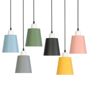 Lámpara de diseño nórdico luces colgantes modernas lámparas colgantes LED  Lamparas de hierro Colgante comedor restaurante luminaria Suspendu >> zhang  ...