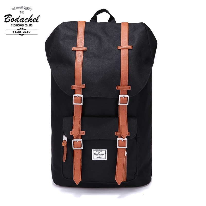 Bodachel Backpack Little America Male Bag School bagpack Large Capacity Computer Laptop