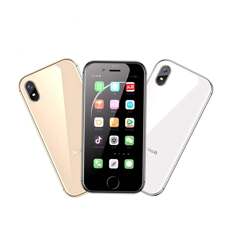 Anica I8 Mini Smartphone GSM WCDMA Android téléphone portable 2.4