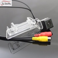HD CCD Car Rear View Parking Backup Reverse Camera Waterproof License Plate Light OEM For Mercedes