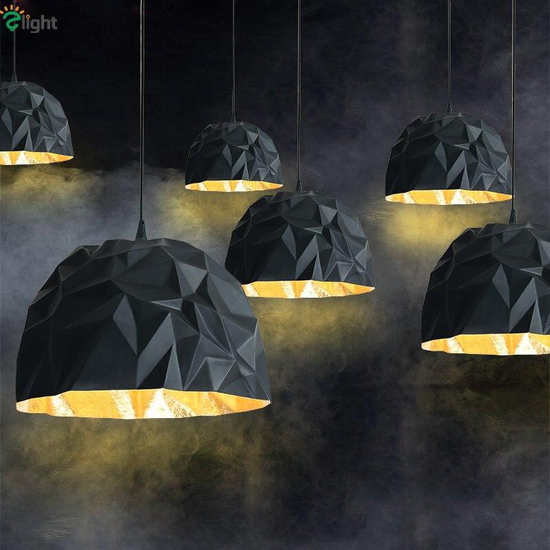 Italy new design rock suspension lamp modern frp led for Suspension led design