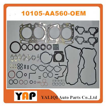 EJ20 EJ205 Overhaul Gasket Kit Engine FOR FITSUBARU Impreza forester WRX EJ205 EJ20 2.0L L4 10105-AA560 10105AA560 2002-2005