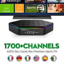 Octa Core Android Arab IPTV BOX T95ZPLUS Free 1700 Europe Arabic IPTV Channels S912 2GB/16GB TV Box WIFI H265 Media Player