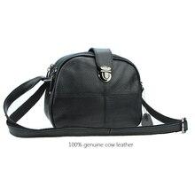 Genuine Leather Saddle Women Bag High Quality Soft Cowhide Woman Shoulder bag New Casual Laddies Crossbody