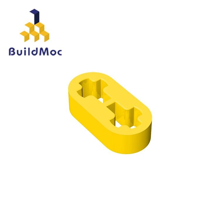BuildMOC Compatible Assembles Particles 41677 1x2 For Building Blocks DIY LOGO Educational High-Tech Spare Toys