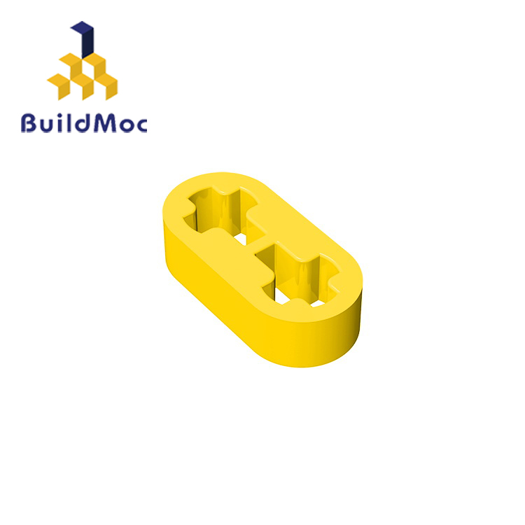 BuildMOC Compatible Assembles Particles 41677 1x2 For Building Blocks Parts DIY LOGO Educational Creative Gift Toys
